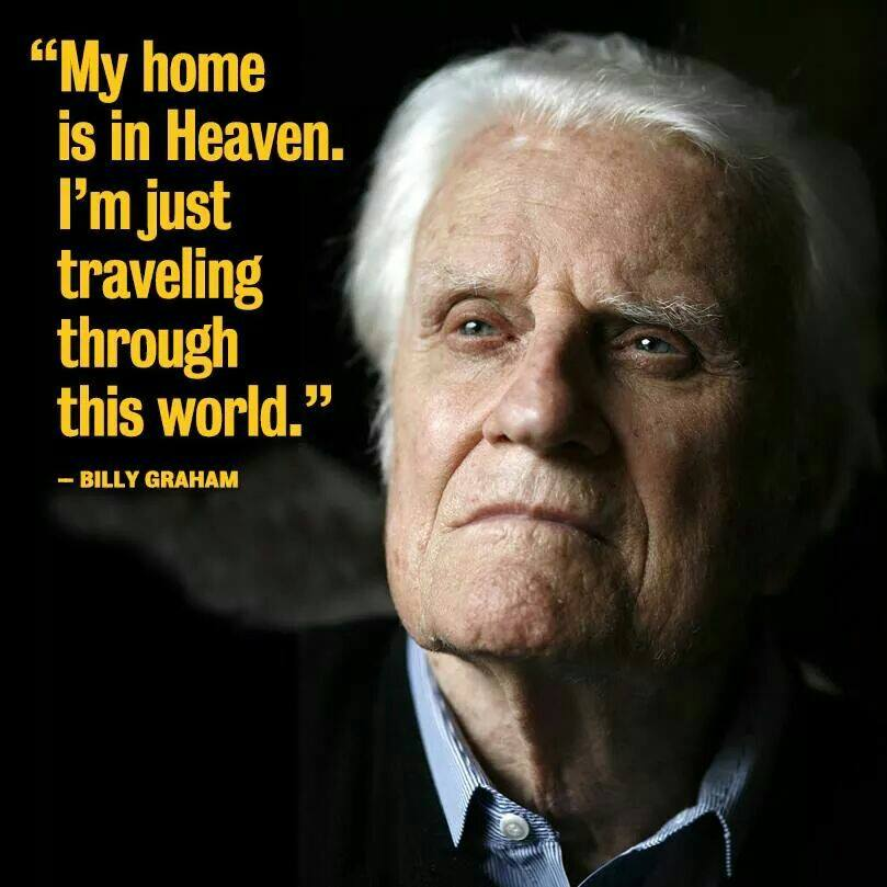 Billy Graham:  His part in my conversion.