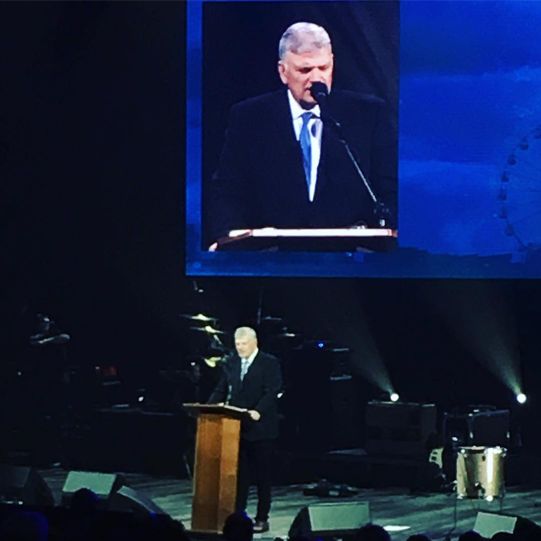 Franklin Graham:  My Part In His 'Festival of Hope' Weekender.