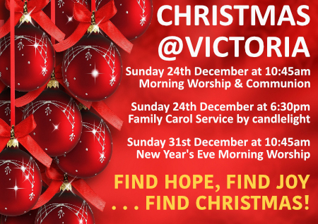 What's on at Victoria this Christmas