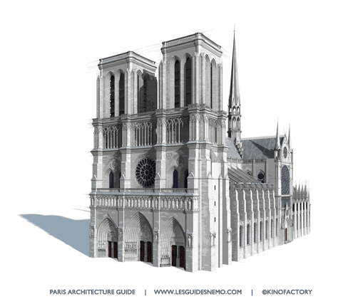 Notre-Dame:  Bastion of Christianity, Will Rise Again!