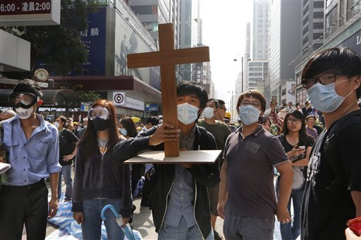 The Plight of Democracy in Hong Kong.